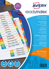 Load image into Gallery viewer, Avery Readyindex 10-Part Divider  01971501