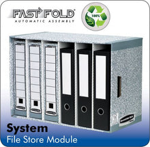 Load image into Gallery viewer, Fellowes System Filestore Module Grey PK5