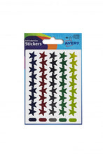 Load image into Gallery viewer, Avery Stars in Packets Assorted 32-352 (90 Labels)
