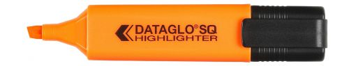 Value Highlighter Flat Barrel Chisel Tip Orange (PK10)