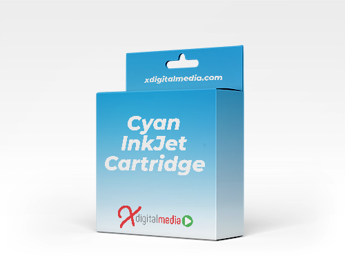 Canon CLI-571CXL-COM Compatible Cyan Ink Cartridge (375 pages)