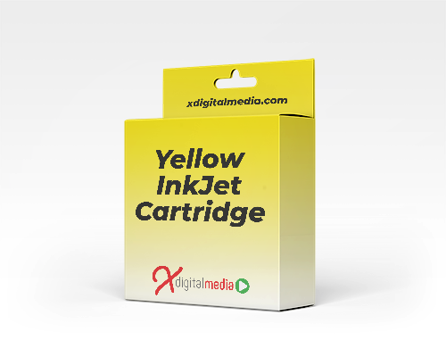 Brother LC1000Y-COM Compatible Yellow Ink Cartridge (400 pages) - xdigitalmedia