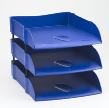 Load image into Gallery viewer, Avery Eco Friendly Letter Tray Blue DR100BLUE