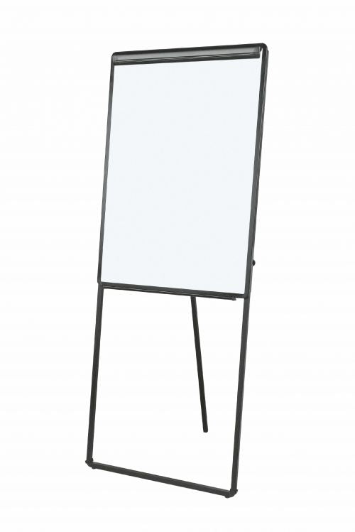 Bi-Office Footbar Easel Magnetic Black Frame