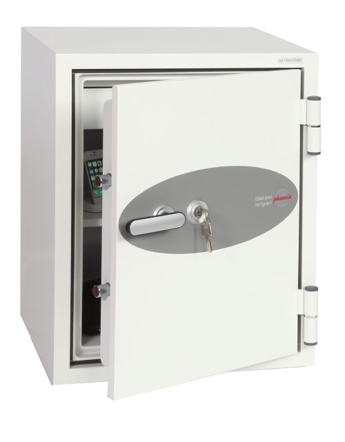 Phoenix Fire Fighter Size 1 Fire Safe with Key Lock