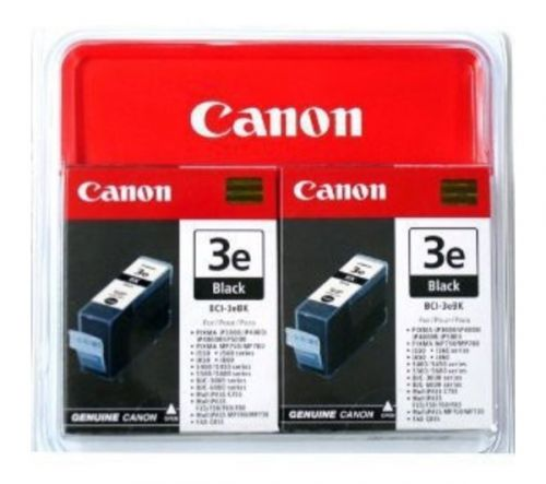 Canon 4479A298 BCI3E Black Ink 27ml Twinpack