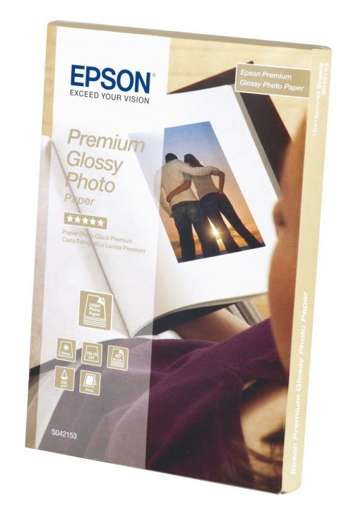 Epson C13S042153 Glossy Photo Paper 10x15cm 40 Sheets