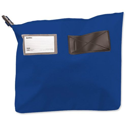Versapak Single Seam Mail Pouch Small Blue
