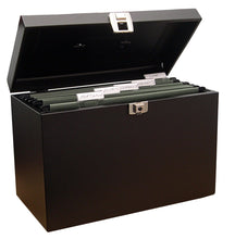 Load image into Gallery viewer, Cathedral A4BK Value Metal File Box A4 Black