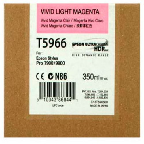 Epson C13T596600 T5966 Vivid Light Magenta Ink 350ml