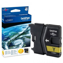Load image into Gallery viewer, Brother LC985Y Original Yellow Ink Cartridge (260 pages)