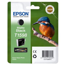 Load image into Gallery viewer, Epson C13T15984010 T1598 Matte Black Ink 17ml