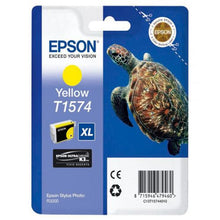 Load image into Gallery viewer, Epson C13T15744010 T1574 Yellow Ink 26ml