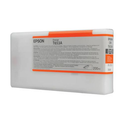 Epson C13T653A00 T653A Orange Ink 200ml