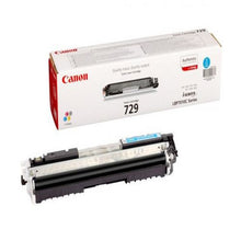 Load image into Gallery viewer, Canon 4369B002 729 Cyan Toner 1K