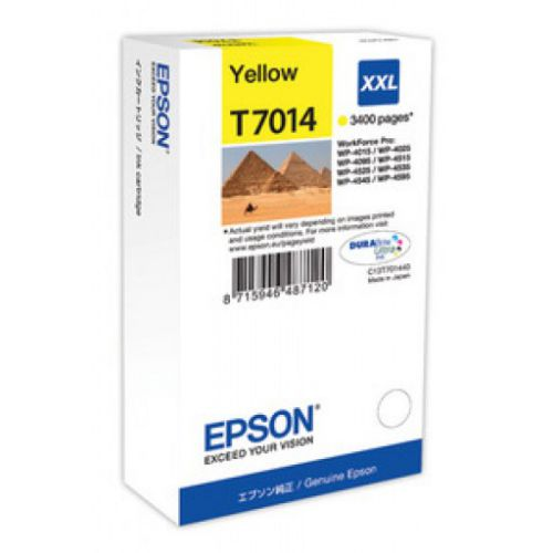 Epson C13T70144010 T7014 Yellow Ink 34ml