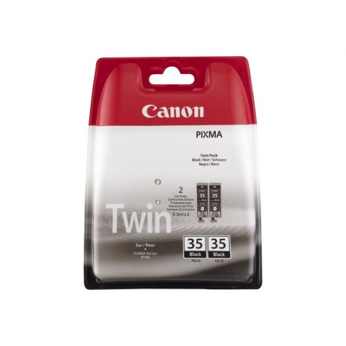 Canon 1509B012 PGI35 Black Ink 9ml Twinpack