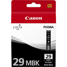 Load image into Gallery viewer, Canon 4868B001 PGI29 Matte Black Ink 36ml