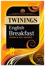 Load image into Gallery viewer, Twinings English Breakfast Tea Envelopes PK50