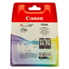 Load image into Gallery viewer, Canon 2970B010 PG510 CL511 Ink 2x9ml Multipack