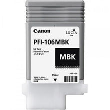 Load image into Gallery viewer, Canon 6620B001 PFI106 Matte Black Ink 130ml