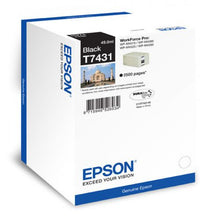 Load image into Gallery viewer, Epson C13T74314010 T7431 Black Ink 49ml