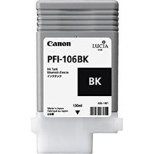 Load image into Gallery viewer, Canon 6621B001 PFI106 Black Ink 130ml