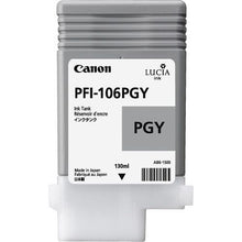 Load image into Gallery viewer, Canon 6631B001 PFI106 Photo Grey 130ml