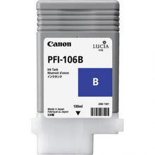 Load image into Gallery viewer, Canon 6629B001 PFI106 Blue Ink 130ml