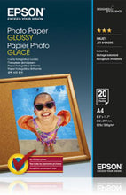 Load image into Gallery viewer, Epson C13S042538 Glossy Photo Paper A4 20 Sheets