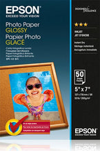 Load image into Gallery viewer, Epson C13S042545 Glossy Photo Paper 13x18cm 50 Sheets