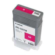 Load image into Gallery viewer, Canon 6707B001 PFI107 Magenta Ink 130ml