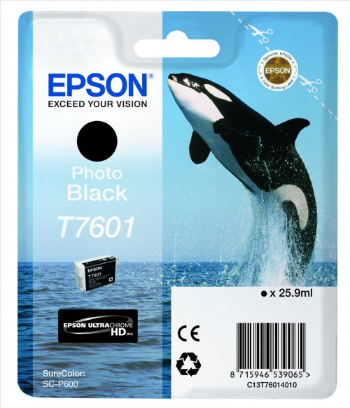 Epson C13T6014010 T7601 Photo Black Ink 26ml