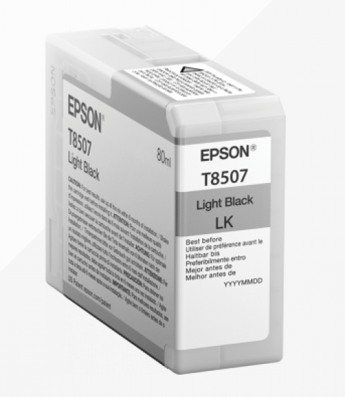 Epson C13T850700 T8507 Light Black 80ml