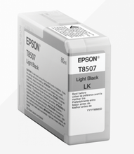 Load image into Gallery viewer, Epson C13T850700 T8507 Light Black 80ml