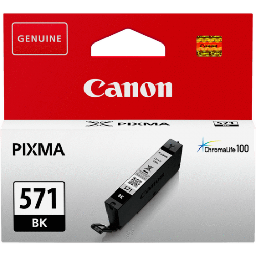 Canon 0385C001 CLI571 Black Ink 7ml