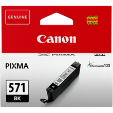 Load image into Gallery viewer, Canon 0385C001 CLI571 Black Ink 7ml