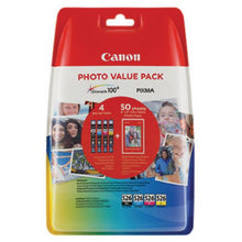 Load image into Gallery viewer, Canon 4540B017 CLI526 CMYK Photo Ink 4x9ml Multipack