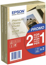 Load image into Gallery viewer, Epson C13S042167 Glossy Photo Paper 10x15cm 2x40 Sheets