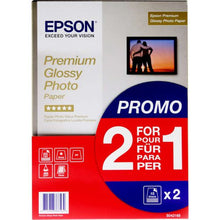Load image into Gallery viewer, Epson C13S042169 Glossy Photo Paper A4 2x15 Sheets