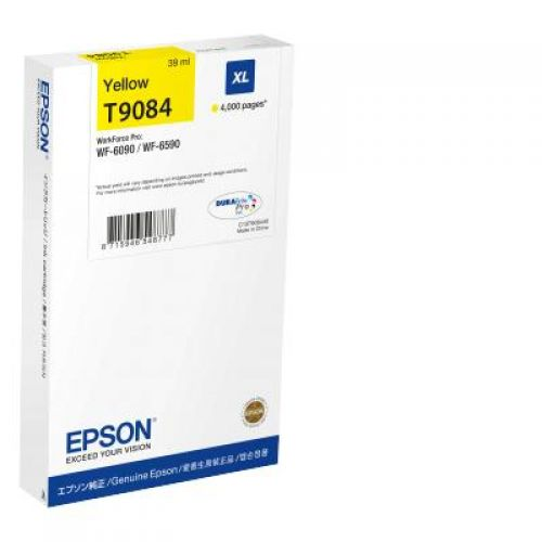 Epson C13T908440 T9084 Yellow Ink 39ml