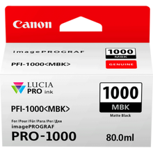 Load image into Gallery viewer, Canon 0545C001 PFI1000 Matte Black Ink 80ml