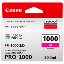 Load image into Gallery viewer, Canon 0548C001 PFI1000 Magenta Ink 80ml