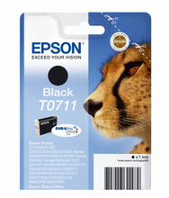 Load image into Gallery viewer, Epson C13T07114012 T0711 Black Ink 7ml