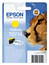 Load image into Gallery viewer, Epson C13T07144012 T0714 Yellow Ink 6ml