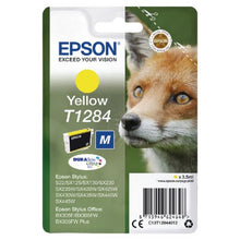 Load image into Gallery viewer, Epson C13T12844012 T1284 Yellow Ink 3.5ml