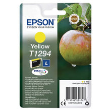 Load image into Gallery viewer, Epson C13T12944012 T1294 Yellow Ink 7ml