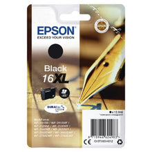 Load image into Gallery viewer, Epson C13T16314012 16XL Black Ink 13ml