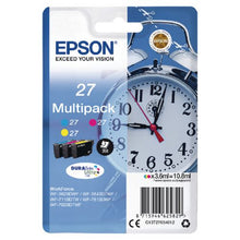 Load image into Gallery viewer, Epson C13T27054012 27 Colour Ink 3x4ml Multipack