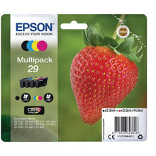 Load image into Gallery viewer, Epson C13T29864012 29 Black Colour Ink 5ml 3x3ml Multipack